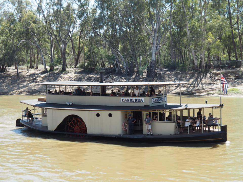 Echuca Paddle Steamer Adventures : Murray River Cruises