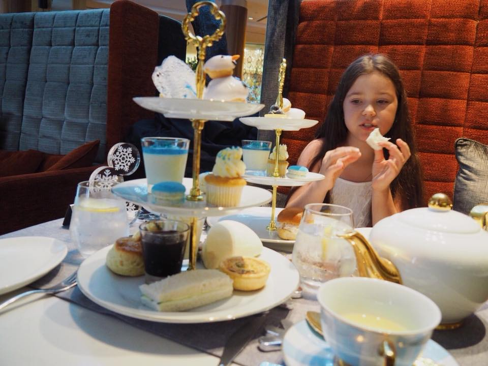 Frosted High Tea at Sofitel Sydney Wentworth with Kids