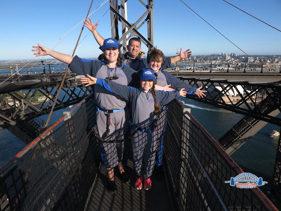 Sydney Harbour BridgeClimb with Kids