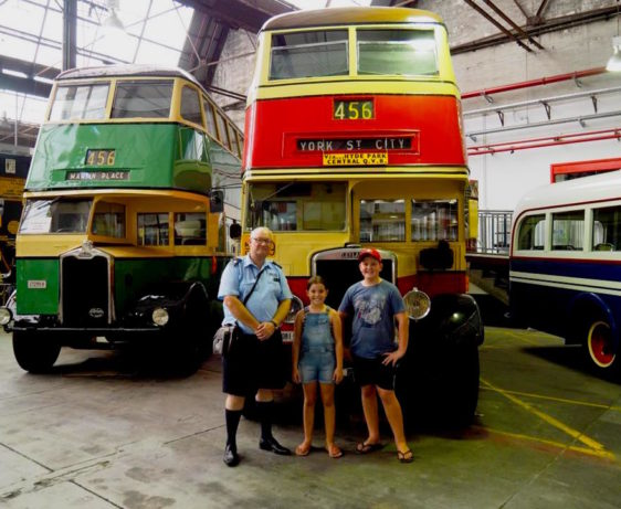 Sydney Bus Museum with Kids : Sydney Buses