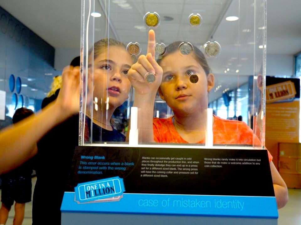 Royal Australian Mint with Kids : Ramint Coins - The Kid Bucket List