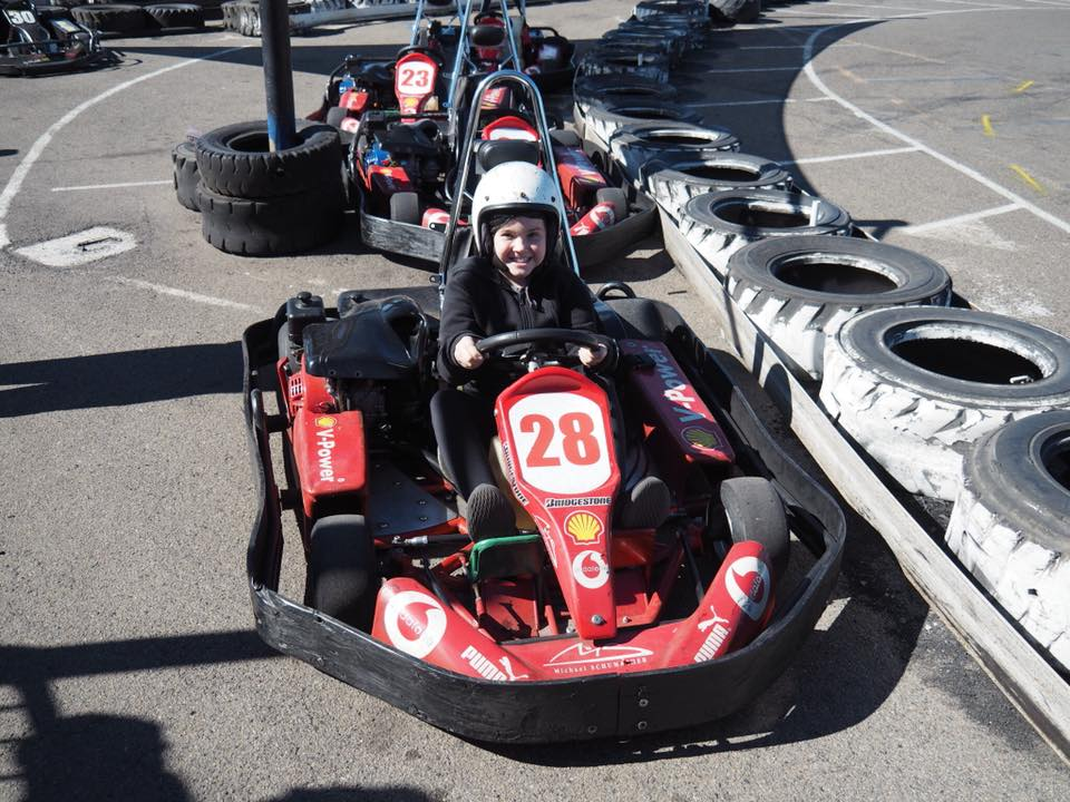 Go Karting in Sydney with Kids - The Kid Bucket List