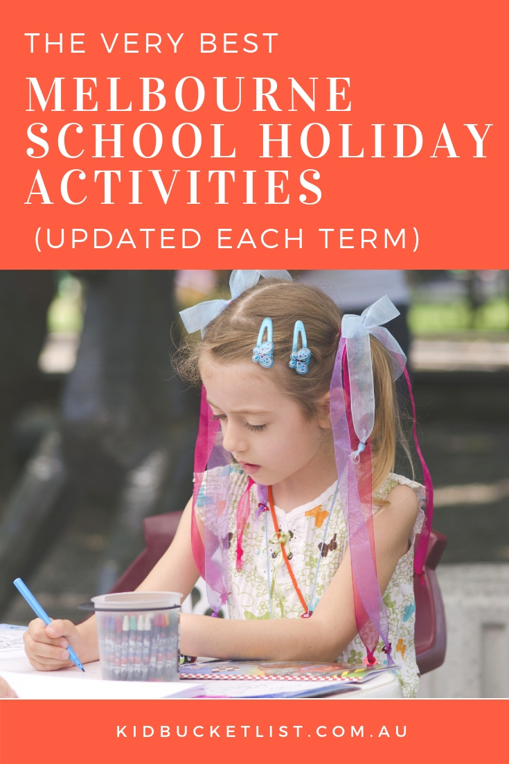 Melbourne School Holidays : Activities for Kids - The Kid